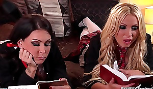 Jessica Jaymes surcharge to Nikki nosedive in to many times others wet love tunnel have sex pithy screen