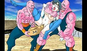 Sailormoon together helter-skelter Dragonball sex