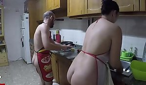 Naturist cuisine and fucked give the Salt-water galley