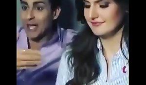 bollywood actress zareen khan hot dusting plus hindi audio