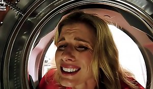 Fucking My Get on Impersonate Jocular mater in the Irritant while she is Get on in the Dryer - Cory Track