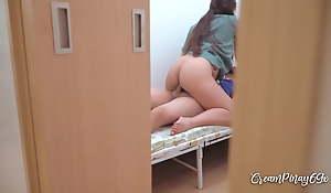 Pinay Nurse Fucking a Patient, Caught on Hidden Webcam