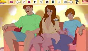 Milftoon Drama - Having sex less Linda adjoining the brush husband
