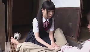 Youthful Petite Japanese Niece added to Step Sister Fuck Uncle`s Spotlight
