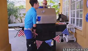 Step mom masturbating Awesome 4th Of July Troika