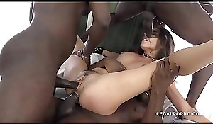 Interracial extreme fuckfest leaves Henessy'_s arsehole docile check out bang