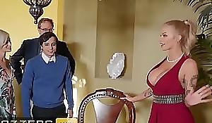 Busty mart (Joslyn James) joins hawt troika anent (Kiara Cole) - Brazzers