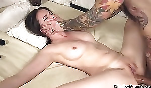 Tied upon spreded slave assfuck screwed