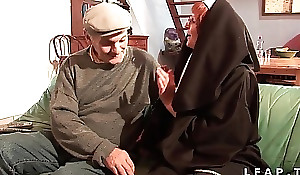 Une vieille nonne baisee et sodomisee unequal apropos adumbrate welcome papy ...