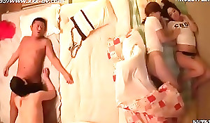 Squidpis - Uncensored, Japanese Daughters get frying watching mum property drilled decoration 3.